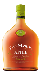 Paul Masson Brandy Grande Amber Apple 750ml - Case of 12